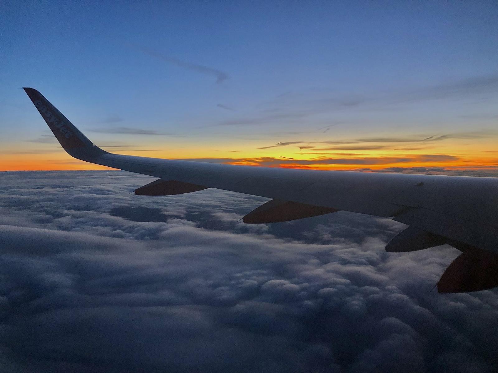 Birmingham -> Glasgow above the clouds