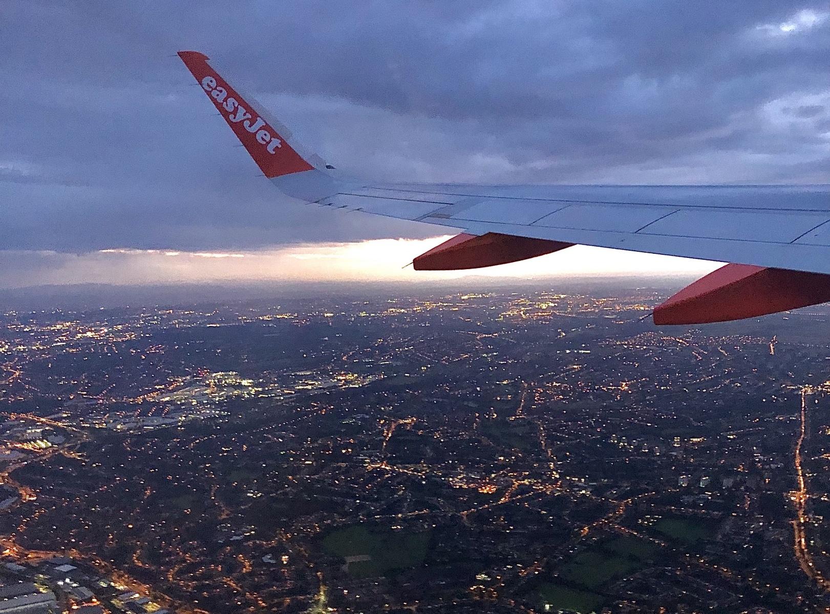 Birmingham from the sky