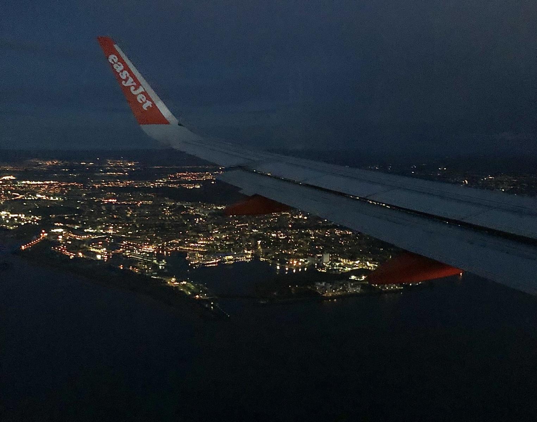 Edinburgh from the sky