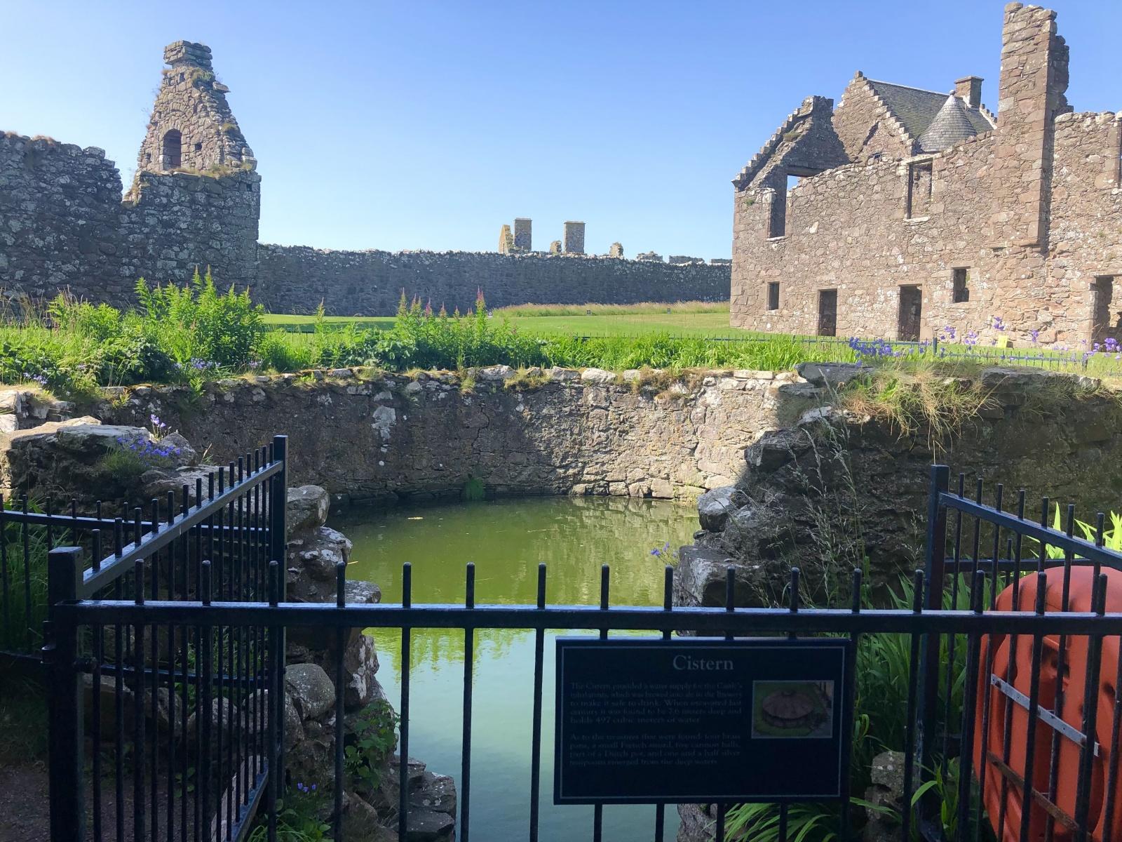 Dunnottar Castle Cistern