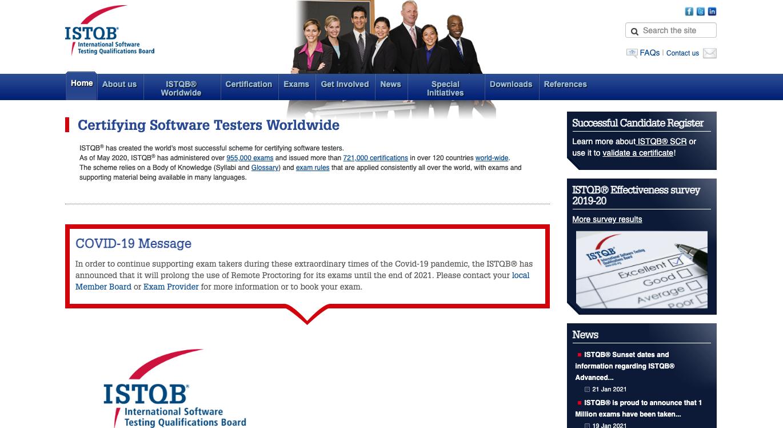 ISTQB Official Website