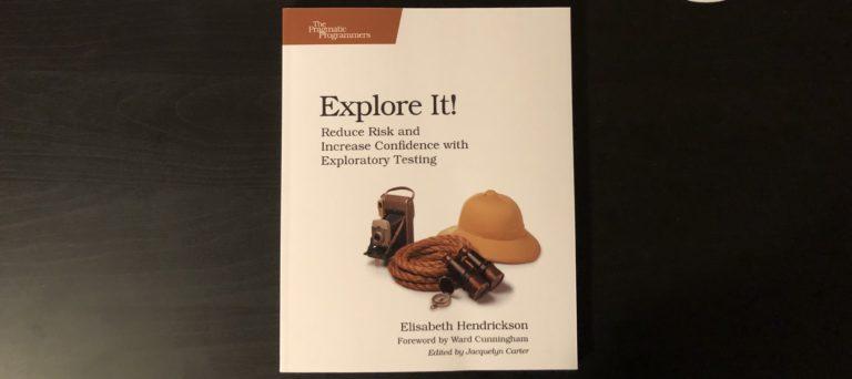 Explore It book