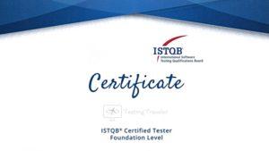 ISTQB Certificate