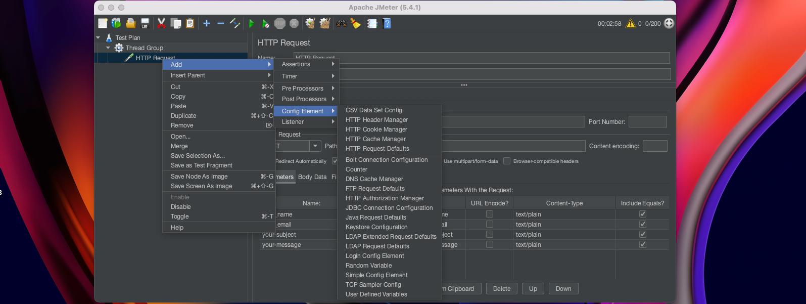Adding Configuration