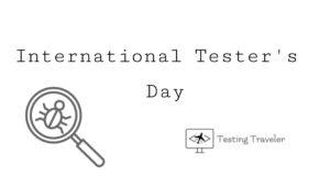 International Tester's Day image